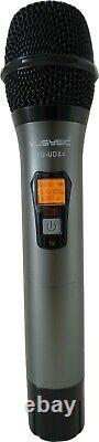 4-Channel UHF Diversity Wireless Handheld Microphone System (4x40 FQ) MU-UDX4-HH