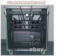 GTD Audio 2x100 Channel UHF Wireless Handheld Microphone Mic System 260M