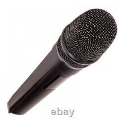 Kam KWM1920 Dual UHF Handheld Wireless Microphone Karaoke DJ Multi Channel