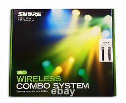 NEW IN BOX Shure Dual Handheld UHF Wireless Microphone System BLX288/PG58 H10