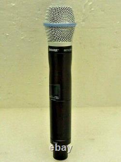 NEW Shure UR2 BETA87A G1E 470 530 MHz UHF-R Handheld Wireless Microphone
