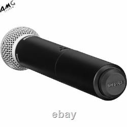 New Shure BLX288 Dual-Channel Handheld Wireless Microphone System with 2 PG58