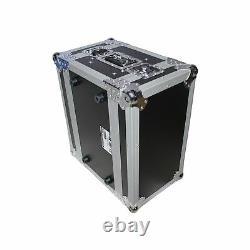 ProX XS-4WM2DR Wireless Mic Case for 4 Units & Handheld Storage With2U Drawer