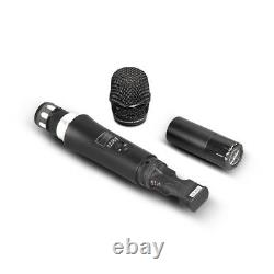 Pro UHF Audio Wireless Microphone System 4 Channel 2 Handheld 2 Headset 2 Lapel
