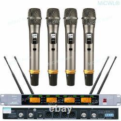 SKM9000 4 Handheld Wireless Microphone System SKM 9000 UHF Sets limited edition