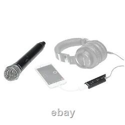 Samson Stage XPD2 Handheld USB Wireless Podcast Podcasting Microphone w Mic Clip