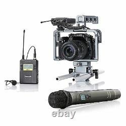 Saramonic UWMIC9 UHF Wireless Lavalier + Handheld Microphone System TX/TX/RX