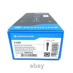 Sennheiser E945 Supercardioid Dynamic Handheld Vocal Microphone Pro Audio NEW