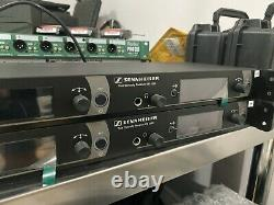 Sennheiser EM 2050 Dual Wireless receiver with (2) Handhelds and 935 capsules