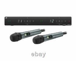 Sennheiser XSW 1-825 Dual-A 2-Channel Wireless Microphone Handheld Mic System