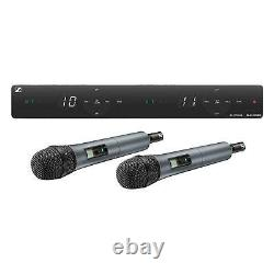 Sennheiser XSW 1-835 DUAL-A 2 Channel Handheld Wireless System withe 835 Capsules