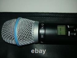 Shure BETA87A Handheld Wireless Professional Microphone