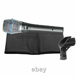 Shure BETA 87A Supercardioid Hand-Held Electret Condenser Vocal Microphone