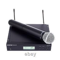 Shure BLX24R/SM58 Wireless DJ Handheld Vocal Microphone System + Rackmount Kit