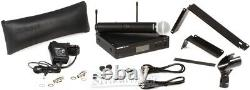Shure BLX24R/SM58 Wireless Handheld Microphone System H9 Band