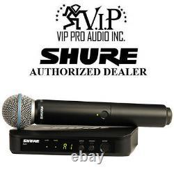 Shure BLX24/B58 J10 BLX24 Handheld Wireless System With Beta 58A Microphoine (J10)