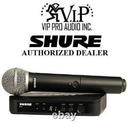 Shure BLX24/PG58 H9 Handheld Wireless PG58 Microphone System H9 512 542 MHz
