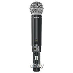 Shure BLX24/SM58 Handheld Multi-Channel Wireless Microphone System