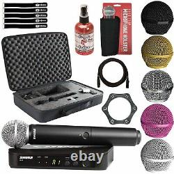 Shure BLX24/SM58 Handheld Multi-Channel Wireless Microphone System Holster Pack