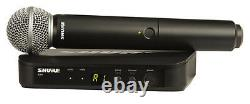 Shure BLX24/SM58 Mic Wireless System withCordless SM58 Handheld Vocal Microphone