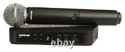 Shure BLX24/SM58 Wireless Handheld Vocal Speech Microphone UHF System