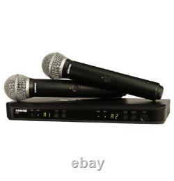 Shure BLX288/PG58 Handheld Wireless Microphone System UPC 0042406470216