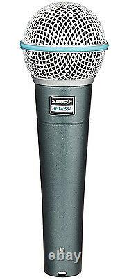 Shure Beta 58A Super-Cardioid Handheld Dynamic Microphone