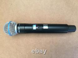 Shure Beta 58A ULXD2 Q51 (794-806MHz) Handheld Wireless Microphone Used