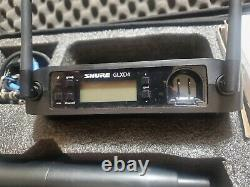 Shure GLXD4 Wireless Receiver System With 58A Michrophone. Excellant Condition