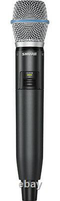 Shure GLX-D Wireless Beta 87A Handheld Microphone System GLXD24/B87A Digital RF