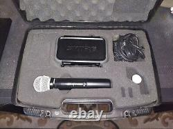 Shure PGX24/PG58-H6 Handheld Wireless Microphone System with Carrying Case