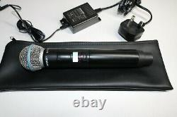 Shure QLXD4, QLX-D Handheld with shure beta 58 compete system