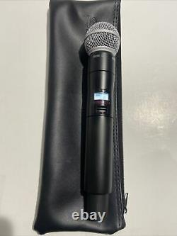 Shure Qlxd2/sm58 Handheld Transmitter Wireless Microphone G50