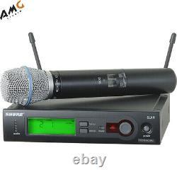 Shure SLX24/BETA87C Series Wireless Handheld Microphone System SLX24 BETA 87C