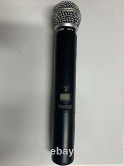 Shure SLX2/SM58 Wireless Handheld Microphone Transmitter H5 Band- Used