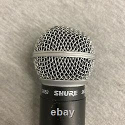 Shure UHF U2-UA SM58 782-806 MHz Wireless Handheld Microphone Black