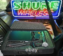 Shure ULX24P Handheld SM58 Microphone System with case J1 M1 G3