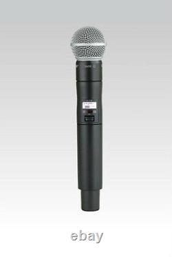 Shure ULXD2 Handheld Wireless SM58 Microphone Transmitter G50 Band New