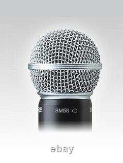 Shure ULX-D Wireless SM 58 Handheld Microphone System ULXD24/SM58 G50 Band