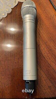 Shure UR4S H4 518-578mhz Handheld Wireless System UR2 KSM9 CHAMPAGNE Microphone