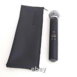 Shure Wireless Microphone Handheld Transmitter SLX2 J3 572-596 MHz SM58 Mic