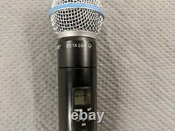 Shure Wireless Microphone Handheld Transmitter ULX2-J1 554-590 MHz beta58a Mic