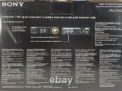 Sony DWZ-M50 Series Digital Wireless Vocal Set Black