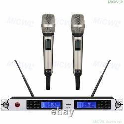 UHF 2x100 Channel SKM9000 Wireless Handheld Dynamic Microphone Mic System