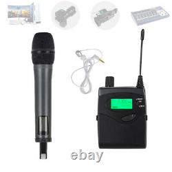 UHF Handheld Microphone Wireless Professional for DSLR Camera Video Camcorder DV
