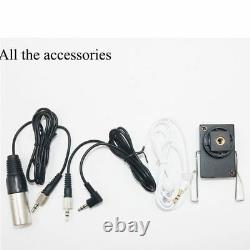 UHF Wireless Handheld Microphone Lavalier Mic for DSLR Camera Camcorder Video DV