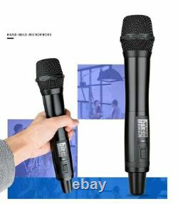 UHF Wireless Handheld Microphone Mic System for DSLR Camera Camcorder Video DV