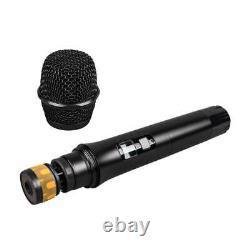 8 Canal Uhf Pro Audio Wireless Microphone System 8 Main Metal Dynamic MIC