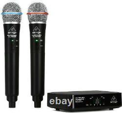 Behringer Ulm302mic Sans Fil Double Système De Microphone Portatif