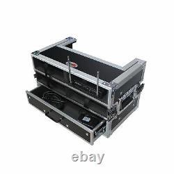 Boîtier MIC Sans Fil Prox Xs-4wm2dr Pour 4 Unités Et Stockage Portatif Avec Tiroir 2u